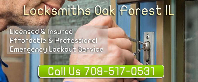 Locksmiths Oak Forest IL banner